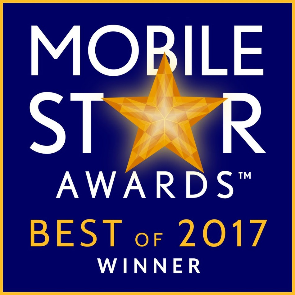 """Course Hero earns first place in """"Best of 2017"""" Mobile Star Awards in the """"Best Educational App"""" category."""