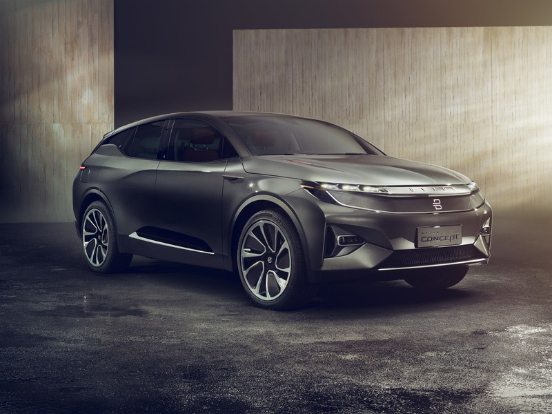 BYTON's new premium SUV unveiled today at CES