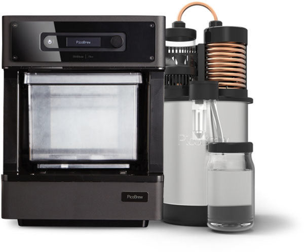 PicoStill is one of several new devices PicoBrew is introducing at CES 2018 that have turned their line of craft beer appliances into a full countertop brewery and the ultimate kitchen appliance.