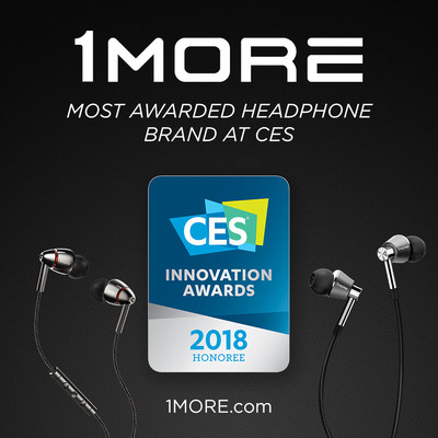 1MORE, The Most Awarded Headphone Brand at CES