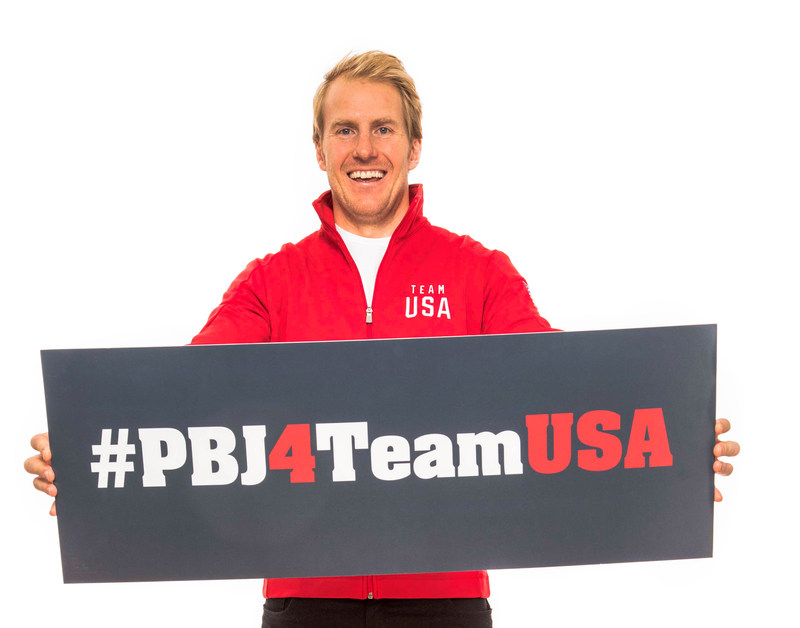Two-time U.S. Olympic gold medalist alpine skier Ted Ligety, on behalf of the Jif®, Smucker's®, and Smucker's® Uncrustables® brands