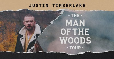 "Justin Timberlake Announces ""The Man Of The Woods Tour"""