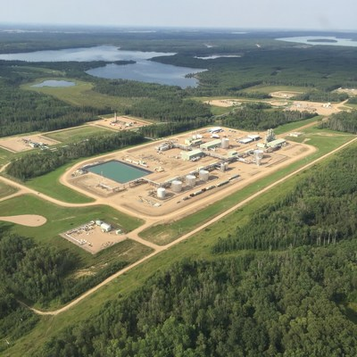 Aerial view of Osum Orion. (CNW Group/Osum Oil Sands Corp.)
