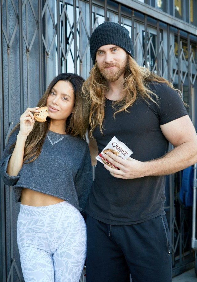 Quest Protein - Cookie Sarah Stage and Brock O'Hurn