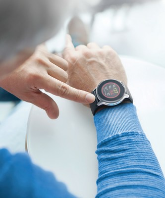 The Omron HeartGuide, the first-ever wearable oscillometric wrist blood pressure monitor, comes in the form of a wristwatch with an inflatable cuff built into the watch band