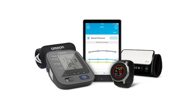 Omron Healthcare debuts first wearable oscillometric wrist monitor, first Blood Pressure Monitor + EKG in the U.S. and new app that stores, tracks and shares more data