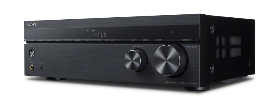 The Sony STR-DH790 completely envelops the audience in sound with Dolby Atmos® and DTS:X™ support.