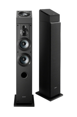 Adding to an already impressive lineup, the speakers are designed to be placed on top of the SS-CS3 floor standing speakers and SS-CS5 bookshelf speakers.