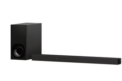 The premium HT-Z9F Dolby Atmos sound bar, paired with Sony's unique virtual technology, brings a new level of impressive cinematic-audio to your home.