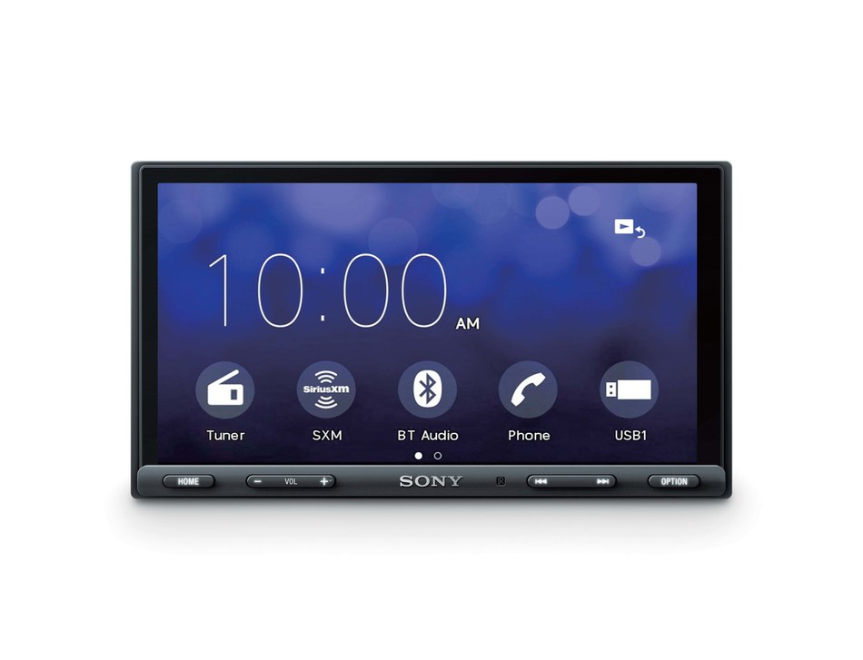 "THe XAV-AX5000 6.95"" AV receiver is equipped with greater smartphone integrations."