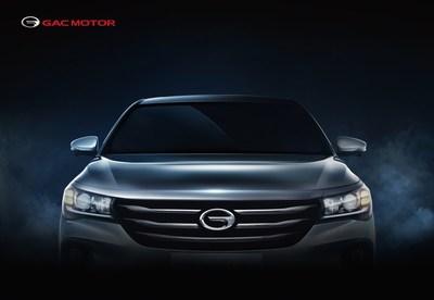 El GA4, un sedán insignia totalmente nuevo de GAC Motor, debutará en la edición 2018 de NAIAS (PRNewsfoto/GAC Motor)
