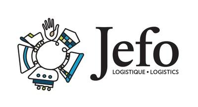 Logo : Jefo Logistique (Groupe CNW/Jefo)