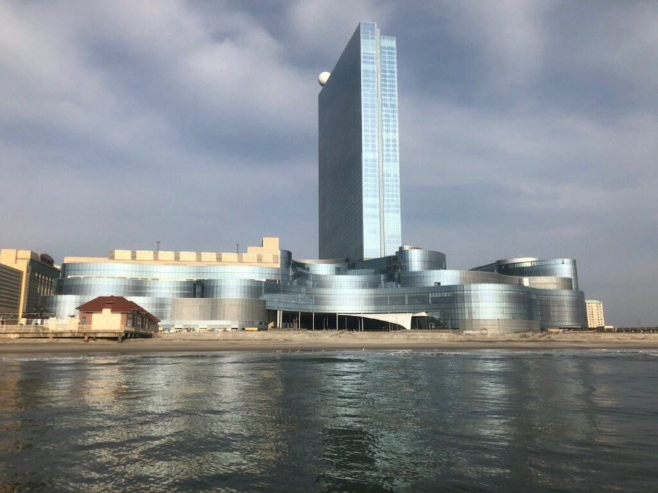 The newly acquired Ocean Resort Casino on the Atlantic City Boardwalk, formerly known as Revel that was built in April 2012 at an investment of nearly $3 billion, will reopen summer 2018.  Source:  AC OCEAN WALK