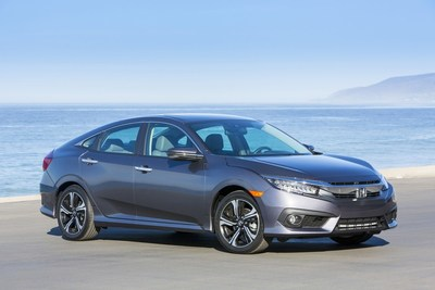 2018 Civic and CR-V Overall Winners in AutoWeb?s Buyer?s Choice Awards as Honda Leads All Brands with Seven Awards (PRNewsfoto/American Honda Motor Co., Inc.)