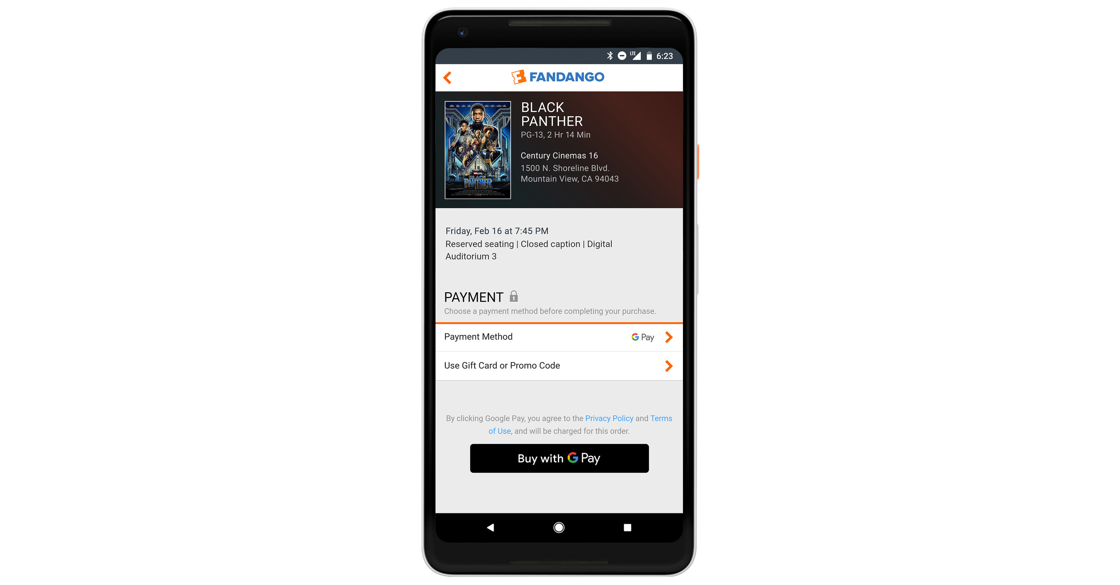 Fandango to launch google pay as a new digital payment option for fandango to launch google pay as a new digital payment option for fast and easy movie ticket buying xflitez Gallery