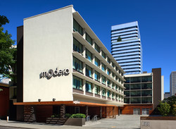 Hotel Modera in Portland, Oregon is now managed by Denver-based Sage Hospitality.