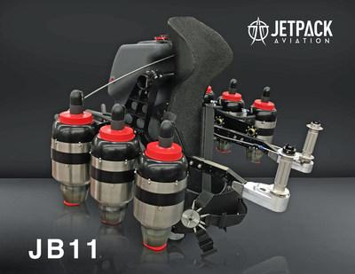 JB11 Heavy Lift JetPack from JetPack Aviation (©2018 JetPack Aviation)