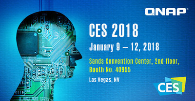 Visit the QNAP booth at CES 2018.