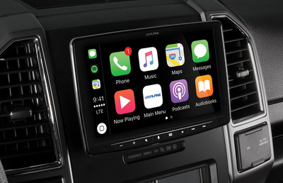 "Alpine Electronics launched the iLX-F309, an in-dash system that brings the 9-inch screen size to a variety of vehicles. The screen ""hovers"" in front of the vehicle's dash, allowing a variety of vehicles to have the oversize screen option without the need for custom installation."