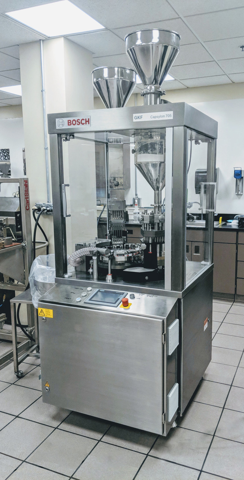 Bosch Packaging Technology: GKF Capsylon 705 Capsule Filler