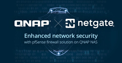 QNAP and Netgate Showcase NAS with pfSense Joint Solution for Network Security at CES 2018.