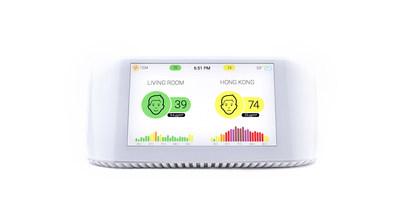 IQAir's air quality monitor AirVisual Pro