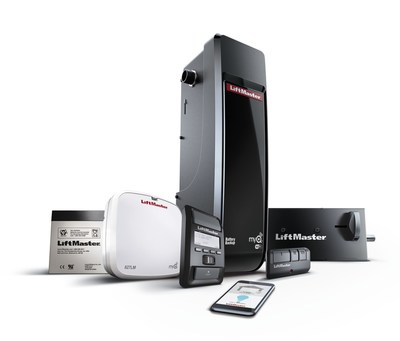 LiftMaster introduces the new 8500W DC Battery Backup Wall Mount Wi-Fi® Residential Garage Door Opener, the ultimate garage access solution featuring an optimized space-saving design.
