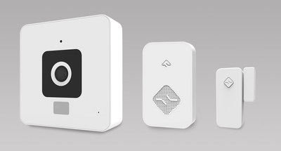 home security in minutes simplysmart home unveils the cube and simplysmart home security system. Black Bedroom Furniture Sets. Home Design Ideas