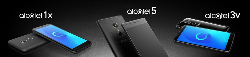 SIGNALING A NEW DIRECTION IN THE COMPANY'S MOBILE HANDSET PHILOSOPHY, ALCATEL INTRODUCES RE-IMAGINED SMARTPHONE PORTFOLIO AT CES 2018