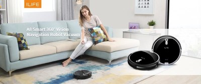 ILIFE Launches all-new A8 Robot Vacuum at CES