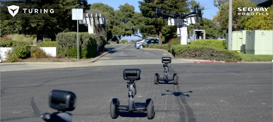 Intelligent security robot NIMBO on patrol