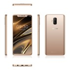 The DOOGEE V breakthrough phone with flexible full-screen and in-display fingerprint sensor. (PRNewsfoto/DOOGEE)