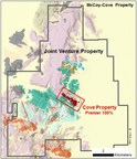 Figure 1 – McCoy-Cove Property (CNW Group/Premier Gold Mines Limited)