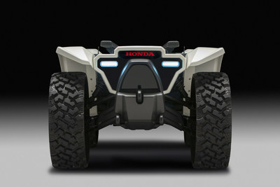 At CES 2018, Honda introduced its new 3E (Empower, Experience, Empathy) Robotics Concept, demonstrating a range of experimental technologies engineered to understand people's needs and make their lives better. Honda's 3E-D18 is an autonomous off-road workhorse device utilizing AI to support people in a broad range of work activities.