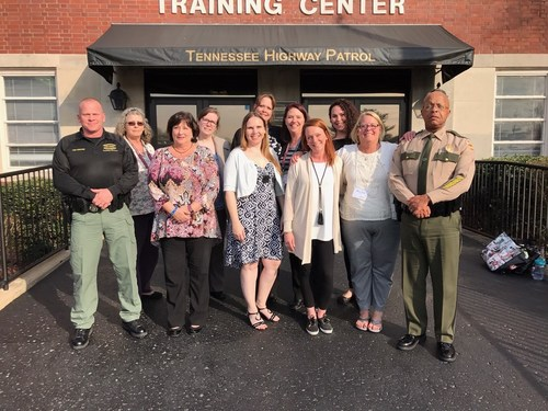 Tennessee Highway Patrol safeTALK training