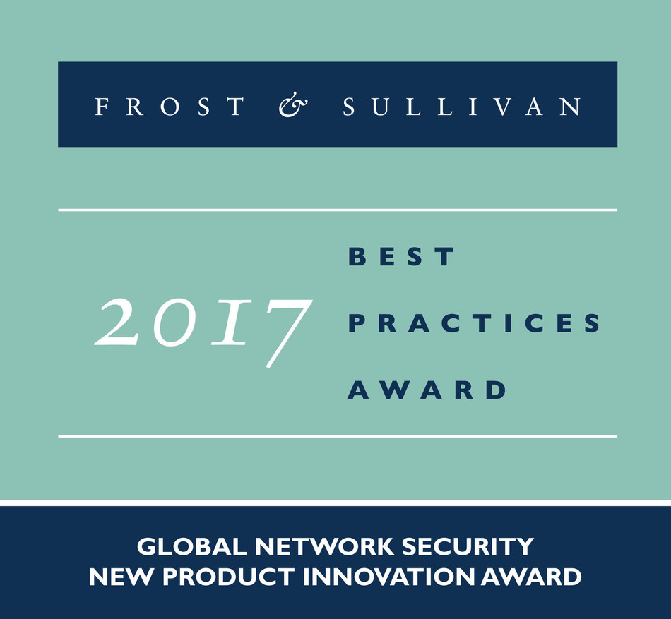 Frost & Sullivan recognizes KPMG with its Global New Product Innovation Award for the firm's innovative KPMG Digital Responder, an automated forensic collection, analysis, and reporting solution. (PRNewsfoto/Frost & Sullivan)