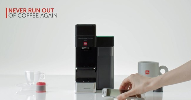 New illy Espresso and Coffee System with Integrated Amazon Dash Replenishment Technology Creates Connected Device for Coffee Lovers