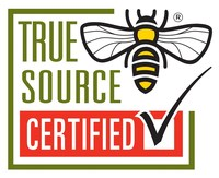 Consumers should look for the True Source Certified logo on honey.