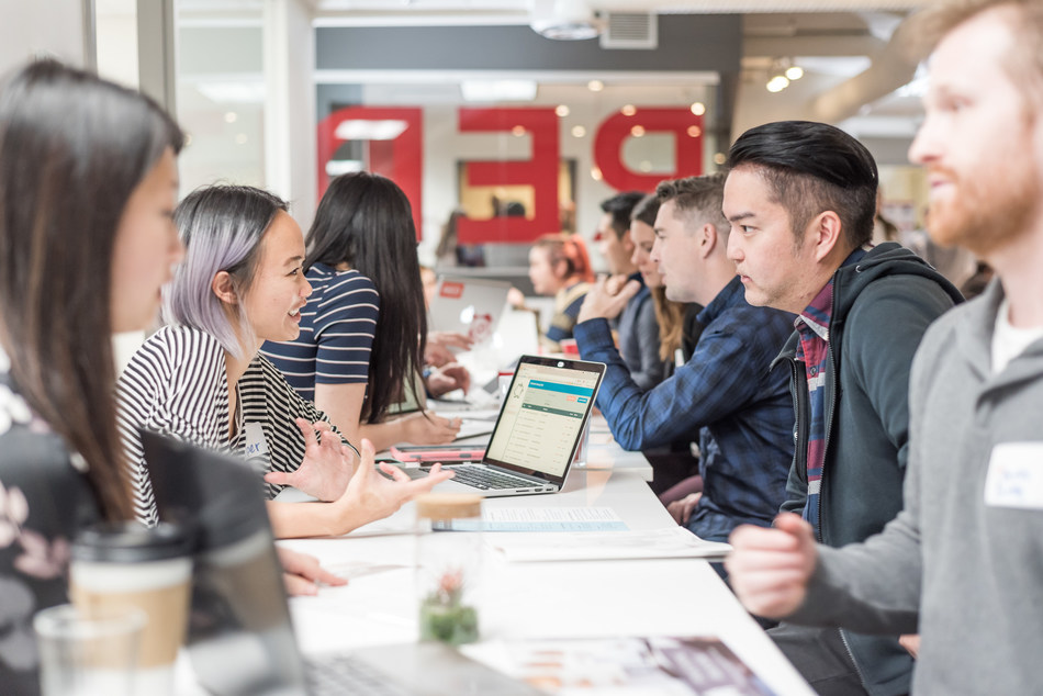RED Academy launches work-study program open to international students to provide much-needed, diverse talent to Canada's booming tech sector. Nearly 200,000 technology jobs will be up for grabs by 2019, with more than ten thousand unfilled positions right now, but only 5% of Canadian students are graduating in this area. (CNW Group/Red Academy)