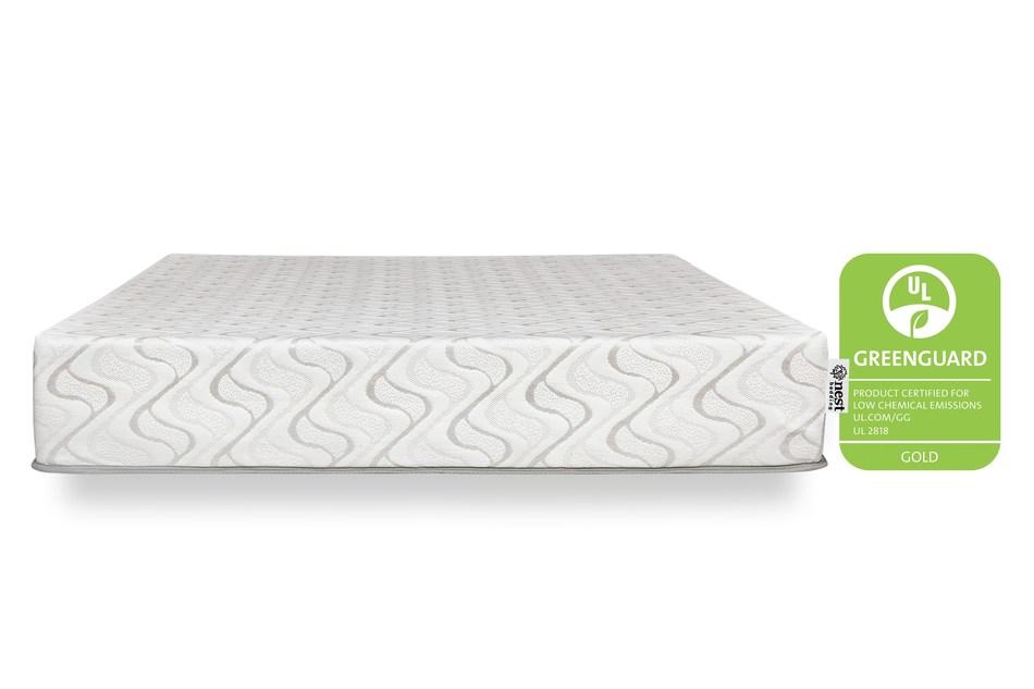 Nest Bedding's Love & Sleep Mattress with GREENGUARD Gold Certification (PRNewsfoto/Nest Bedding)