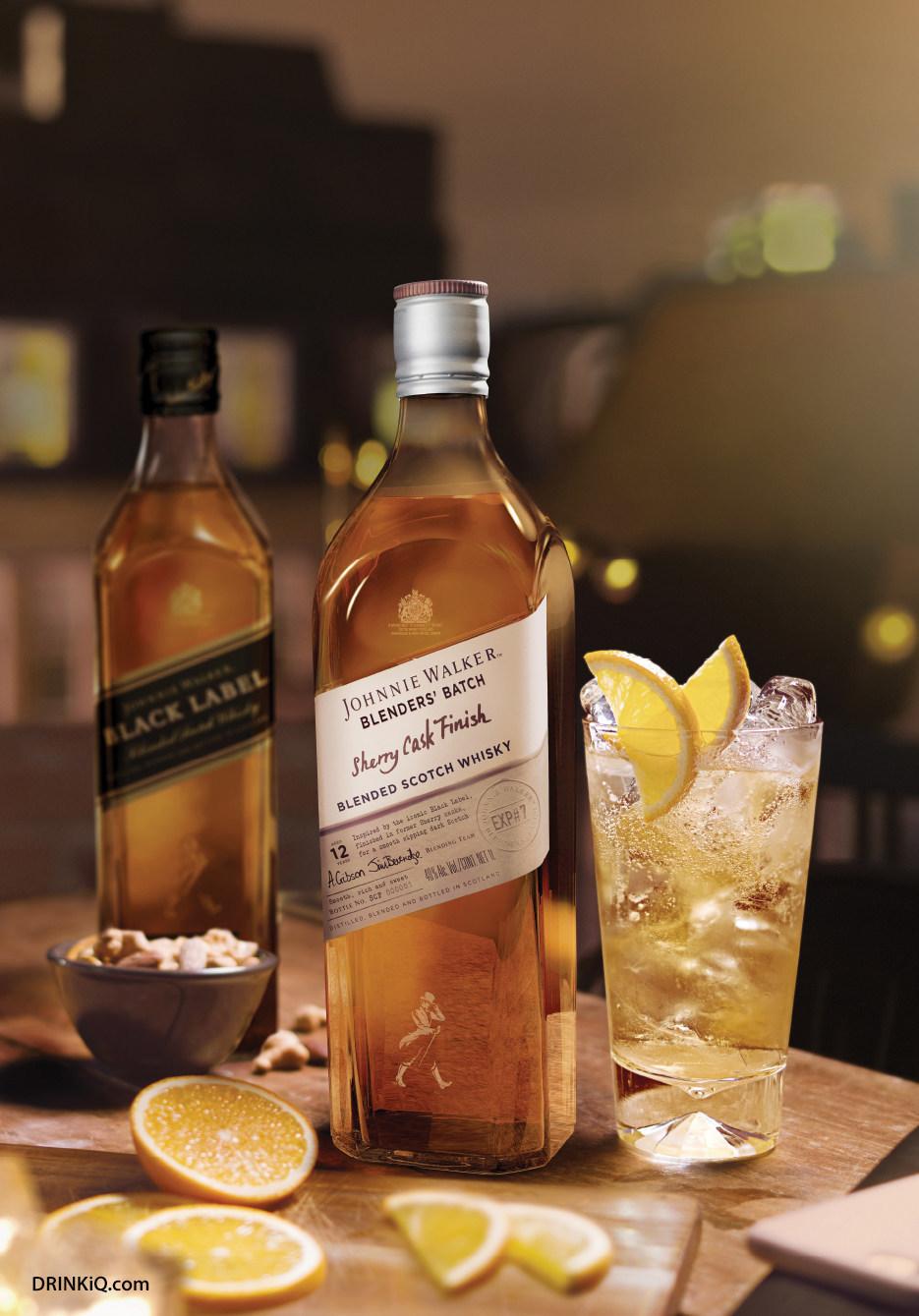 Johnnie Walker Blenders Batch Sherry Cask Finish (PRNewsfoto/Johnnie Walker)