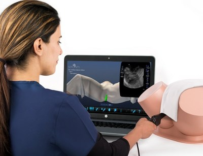 SonoSim�s comprehensive OB�GYN ultrasound training program consists of cloud-�based didactic lessons, knowledge assessments, and real-patient hands-on training cases, including transvaginal ultrasound scanning.