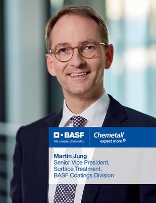 Chemetall(R)成為巴斯夫創新表面處理技術的新全球品牌