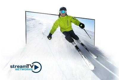 Stream TV da la bienvenida a una nueva era de 3D sin lentes, aprovechando plenamente los paneles de alta resolución para crear las experiencias de visualización más inmersivas del mundo para películas, televisores, videojuegos, deportes en vivo y más. @UltraD3 #8K #8KTV #CES18