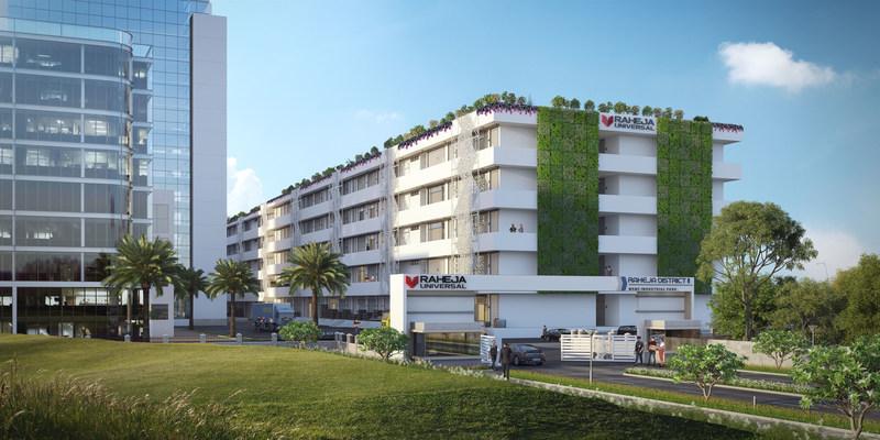 Raheja District II - MSME Industrial Park (PRNewsfoto/Raheja Universal Private Limited)