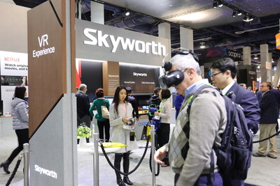 Skyworth showcases VR product