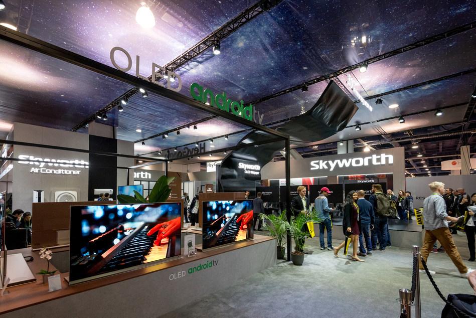 Skyworth at CES 2018