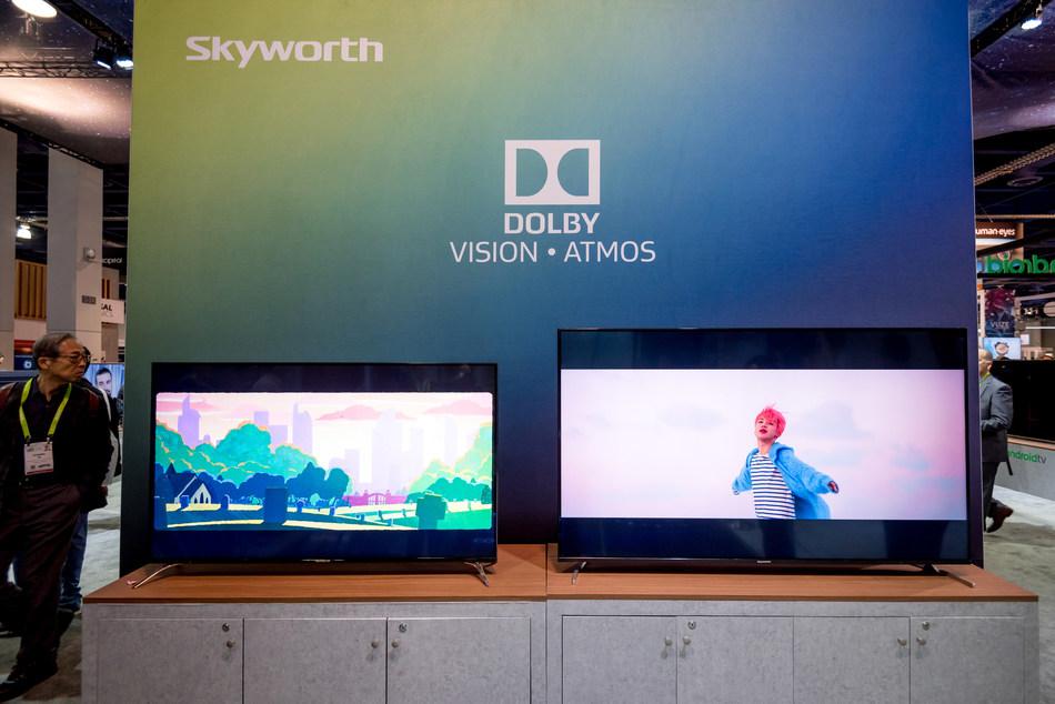 Skyworth's OLED TV