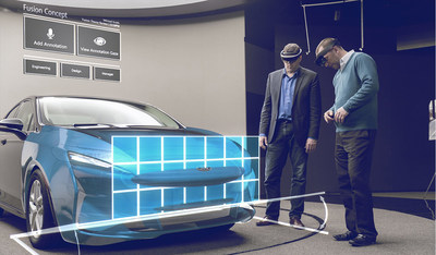 The Microsoft HoloLens allows automakers to test vehicle prototypes in minutes instead of weeks