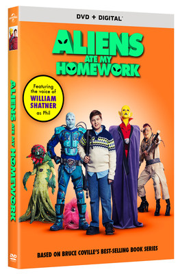 From Universal Pictures Home Entertainment: Aliens Ate My Homework